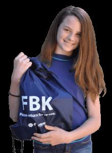 Girl with FBK Bag