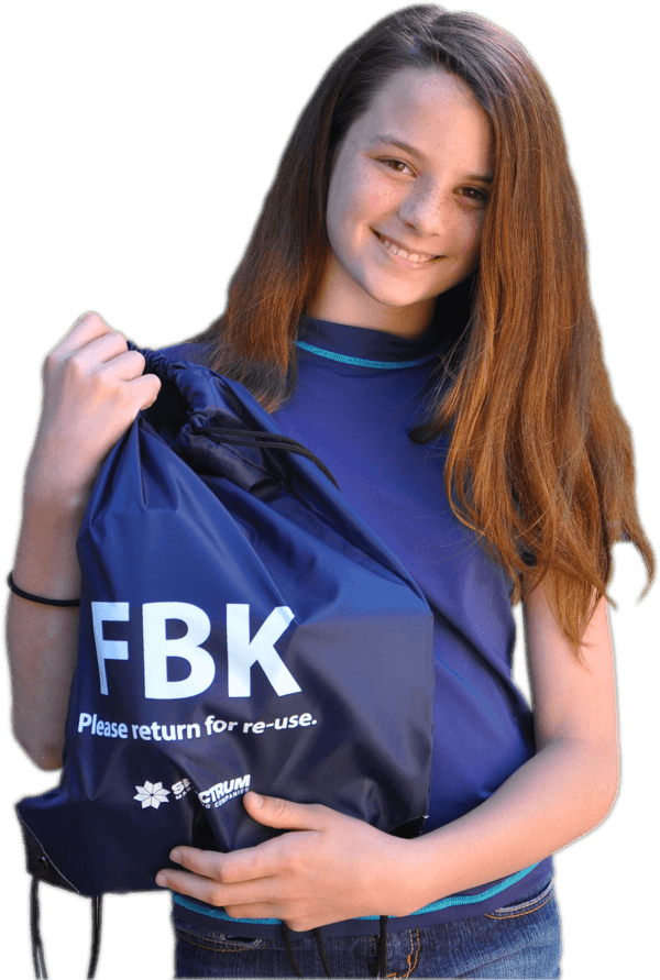 Girl with FBK Bag