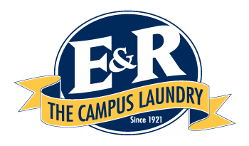 E and R The Campus Laundry logo