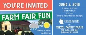 You're Invited! Farm Fair Fun: Buy Tickets!